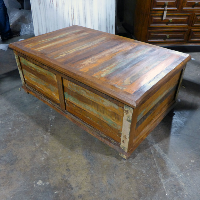 Coffee Table Trunk Nadeau Chicago