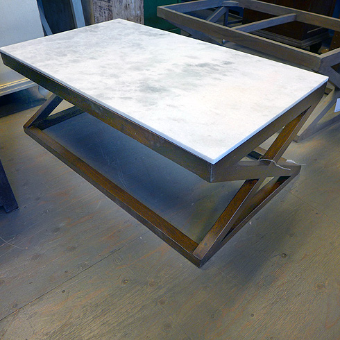 Marble Top Coffee Table Nadeau Chicago