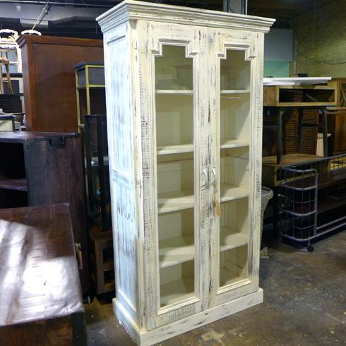 Ordinaire Two Door Glass Cabinet