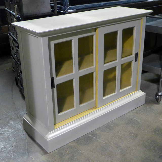 sliding glass door bookcase