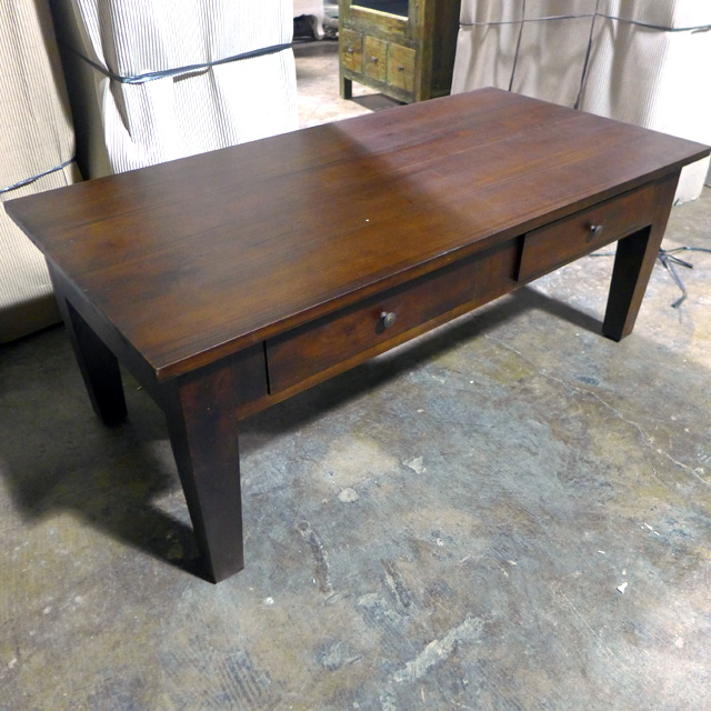 Coffee Table With Tapered Leg Nadeau Chicago