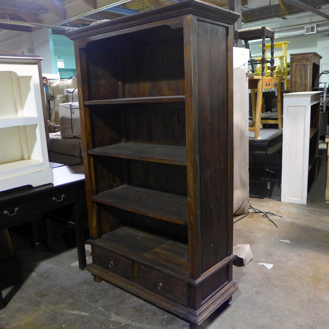 Two Drawer Bookcase Nadeau Chicago