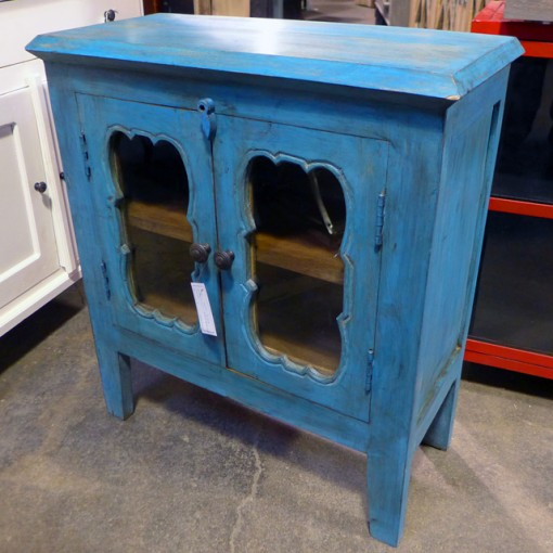 Two Door Glass Sideboard