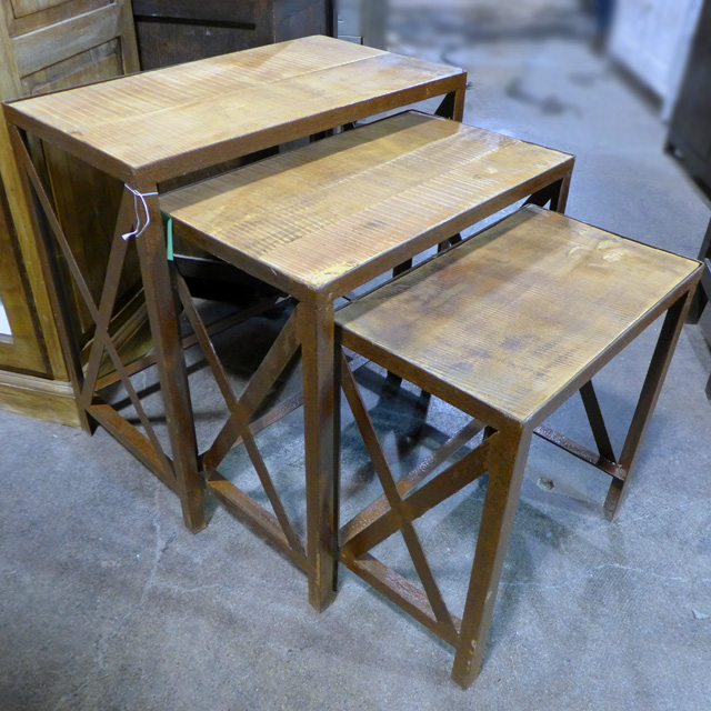 Industrial Nesting Table