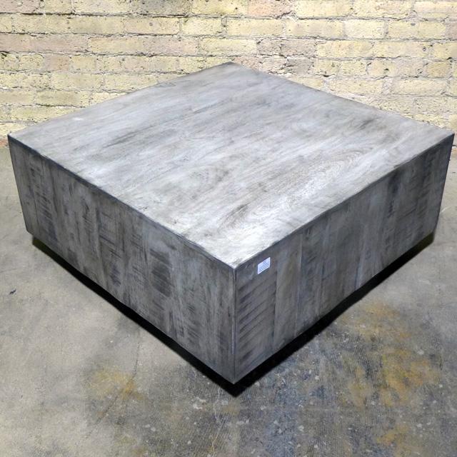 Square Coffee Block Table