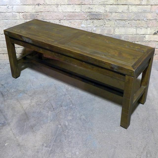Gentil Reclaimed Pine Bench