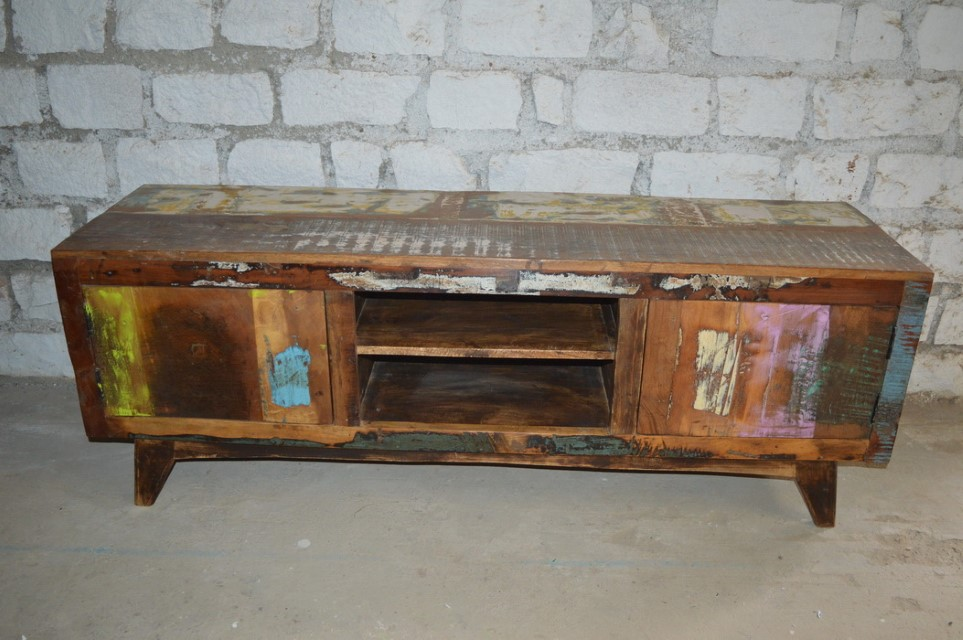 095cf3c65e3d Reclaimed Wood Tv Stand - Nadeau Savannah