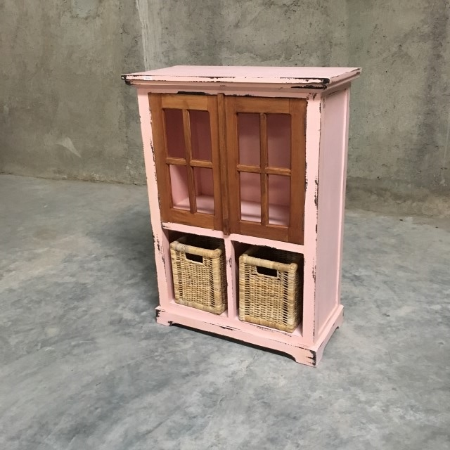 Kitchen Cabinets Chattanooga Tn: Small Cabinet With Baskets