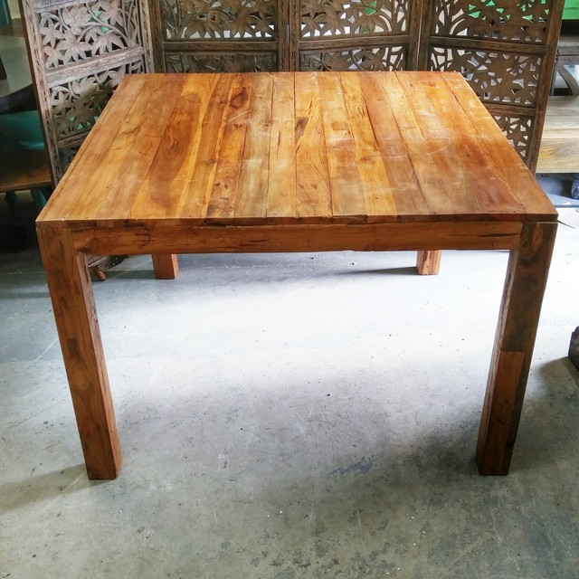 Square Dining Table Nadeau Charlotte