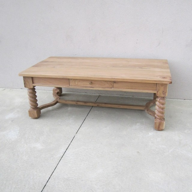 Barley Twist Coffee Table Nadeau Columbia