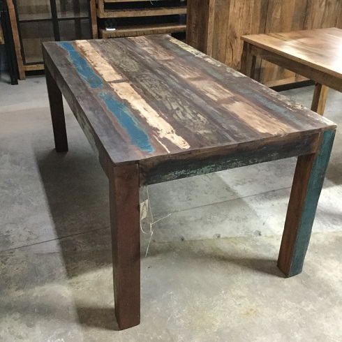 Reclaimed Wood Dining Table Nadeau Dallas