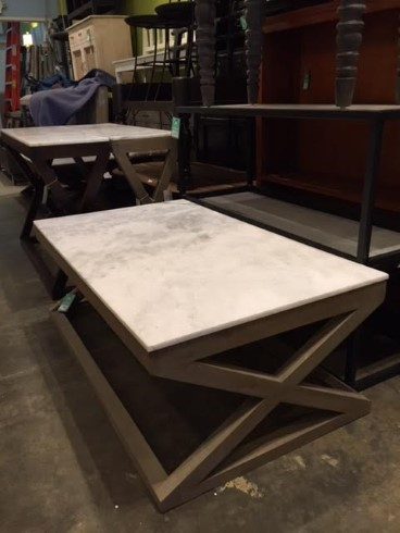 marble top coffee table Marble Top Coffee Table   Nadeau Marietta marble top coffee table