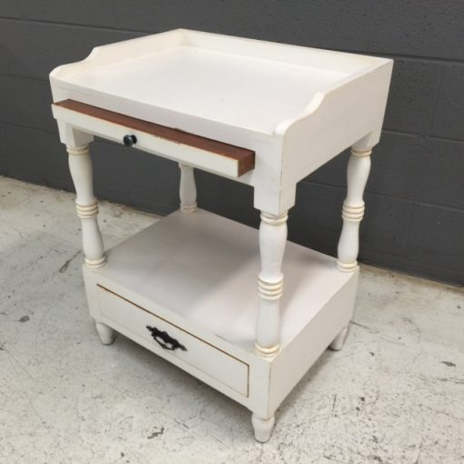 Side Table With Pull Out Shelf Nadeau Nashville