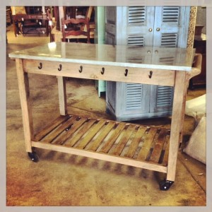 Kitchen Table On Wheels Nadeau Raleigh