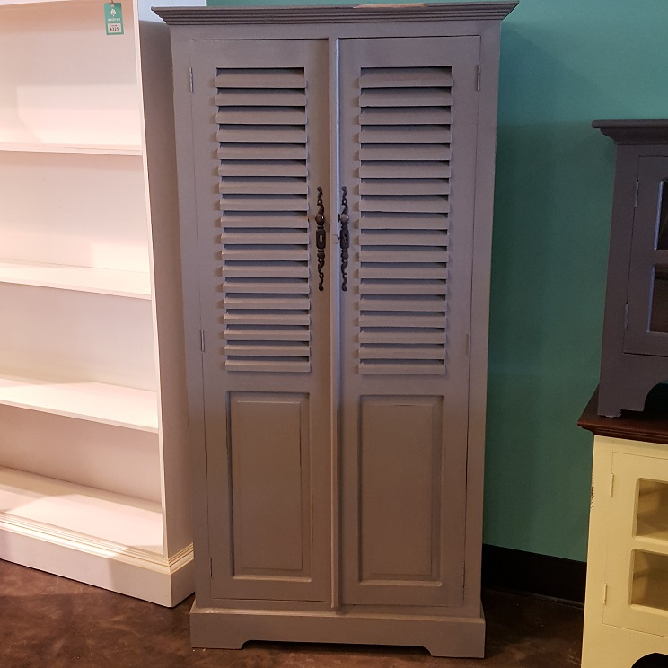 louvered kitchen cabinet doors louvered door cabinet nadeau 7182