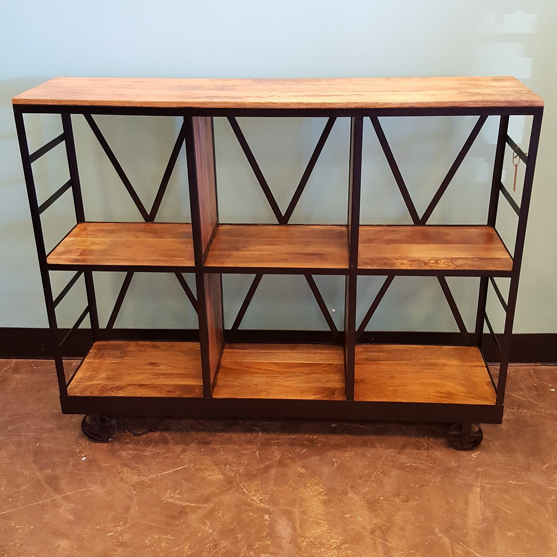 Perfect Bookcase On Wheels