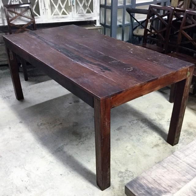 Reclaimed Wood Dining Table Nadeau Cincinnati