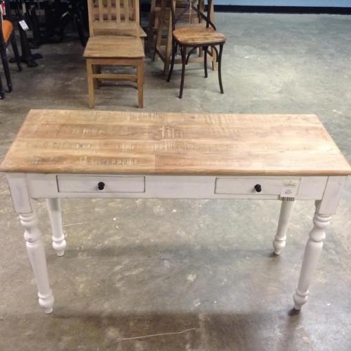 Turned Leg Console Table Nadeau Cincinnati