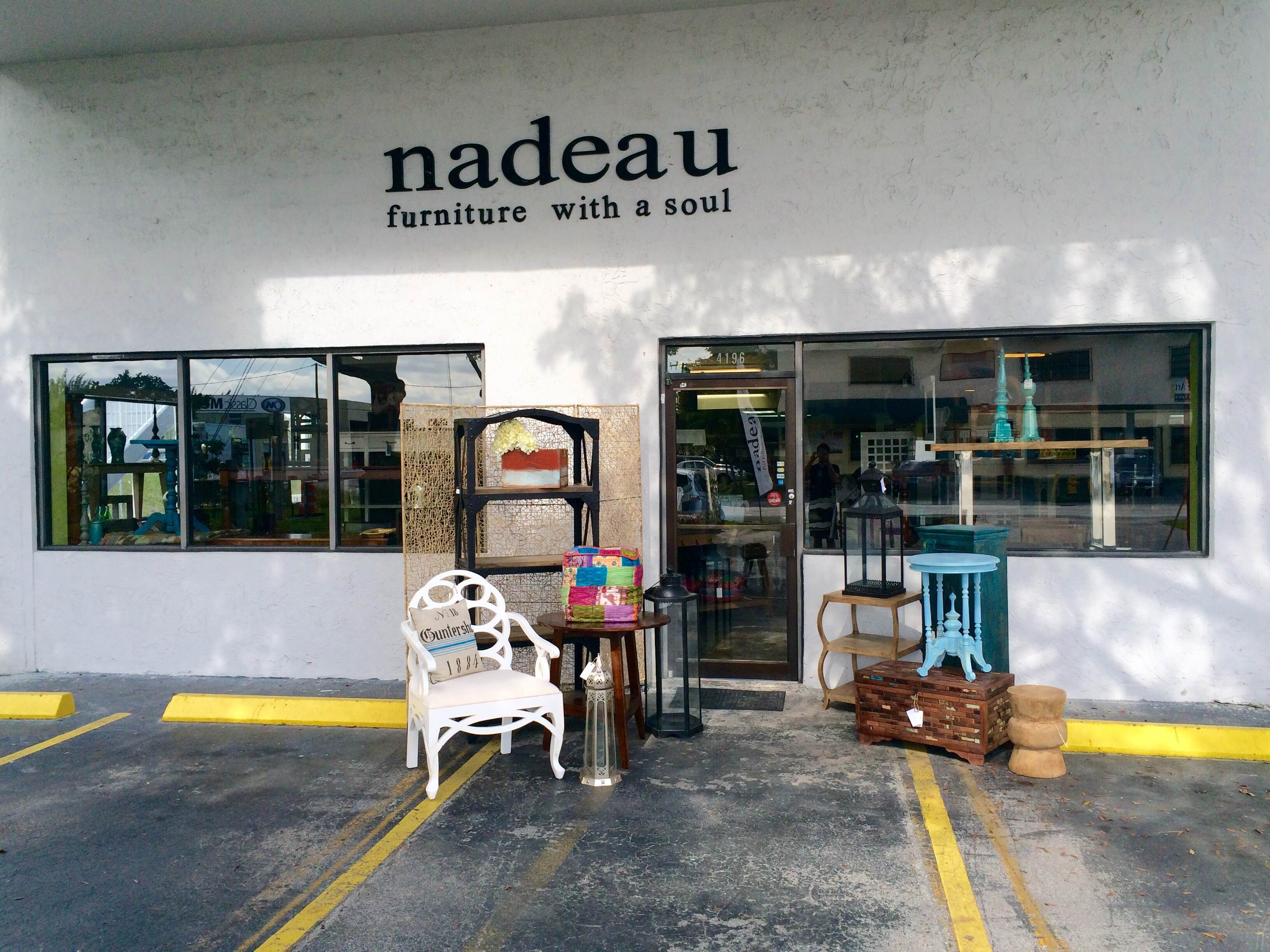 furniture stores in miami Wooden Box   Nadeau Miami furniture stores in miami