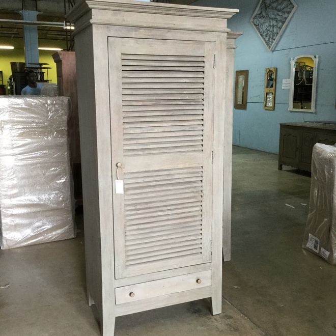 Louvered Kitchen Cabinet Doors: Louvered Cabinet